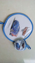 Small heat transfer fan as gift exquisite present easy to carry and folding