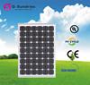2015 new LCD 120w protable folding solar panel