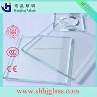 Shahe Haojing high quality float glass price per square meter