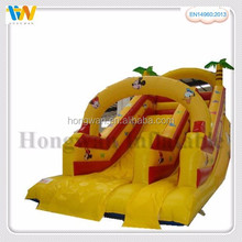 Best price inflatable bouncer water slide inflatable bouncer castle with swimming pool for sales