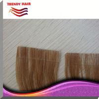 Keratin Skin Weft /Glue Pu Tape Hair Extension