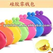 Good Multi-functional Mini Silicone Purse Bag for Girls 2012