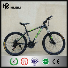 2015 New design inch steel frame 24 speed mountain bike with good suspension fork