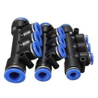 Brand New Air Pneumatic Hose Tube Push In Fitting Union Manifold Quick Connector 4-10mm Excellent Quality