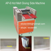 pacakges boxes gluing hot melt machine