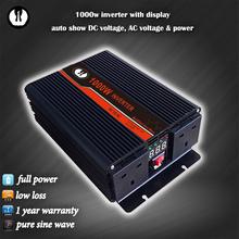 modified sine wave led car energy ac dc 1200 watt inverter 12v 24v 48v-110vac