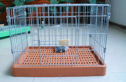 dog crate pads FC-2202P folding storage crate Petwant with optional wheels and food tray