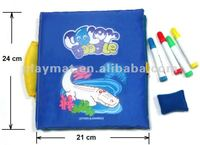 Hot selling Interested story book kids coloring pens Telling story and color doodle Green material CE EN71 RHOS 6P AZO