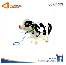 Inflatable Helium Toys Balloon, Cow Animals Shape Walking Pet