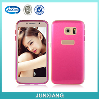 2 in 1 metal bumper tpu unique back cover case for samsung galaxy S6