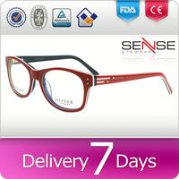 round rimless eyeglasses optical frames italy fancy party glasses