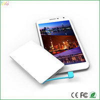 2015 factory supply portable 5mm super slim power bank for mobile phone