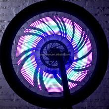colorful flash led cycling bike light, popular fashion led safety wheel light, led sports flashing roller