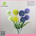 cabezas 2 pasto cebolla para venta al por mayor de flores de plástico de china