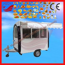 Professional Fast Food And Beverage Application Customized China 2015 Fast Food Cart
