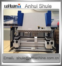 WC67K CNC Sheet metal press brake curtain track bending machine