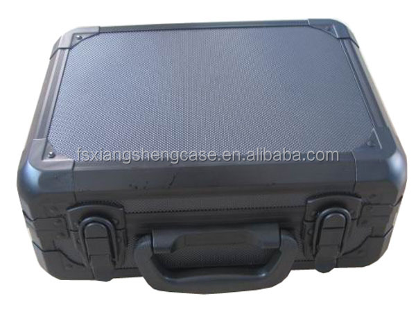 Black aluminum Tool Case Type Aluminum tool box with compartments,aluminium box Package Hand tools case