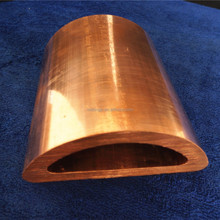 Oxygen-free silver bearing copper alloy profiled pipe