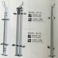 outdoor stainless steel 304/ 316 balcony handrail/railing/column/ balustrade
