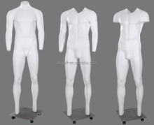 Brand new V neck-cut photography display invisible male Ghost mannequin