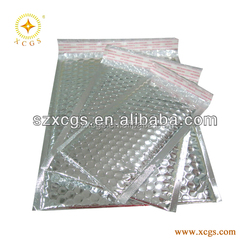 Silver Glamour CD or DVD Bubble Mailers
