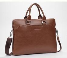 2015 vintage pu leather shoulder bag business man leather bag