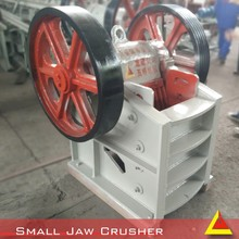 alibaba popular supplier 8-40t/h jaw crusher price with 30-130mm output size