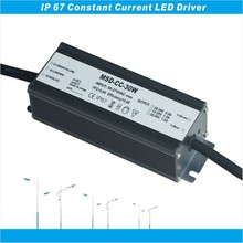 LED driver 30W 30-36V 900ma waterproof led driver IP67 30W PF>0.98 EFF>96% five years warranty TUV SAA CE RoHS approval