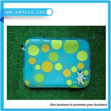 7''-17''logo print wholesale waterproof neoprene laptop sleeve with handle