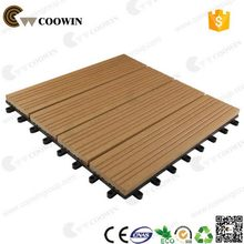 Best quality hotsell wpc floor tiles standard size