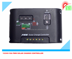 2015 Hot sale 12 24V PWM Solar Charge Controller 10A