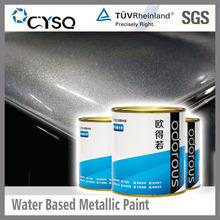 Water Based super metallic spray paint