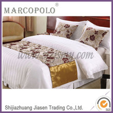 Comfortable and Fashionable Pure Cotton Satin Hotel Bedding Set Bed Sheet