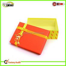 cheap sale new design base and lid rigid cardboard box