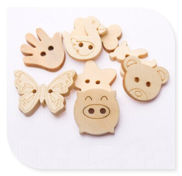 Wood Button (3)