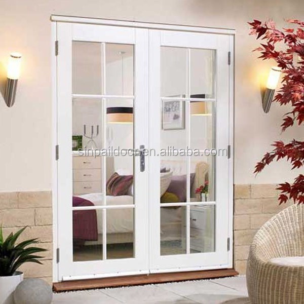 48 inch aluminum contemporary outdoor french doors for 48 inch french doors