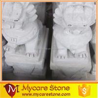 Chinese lifelike lion statue, stone lion statue on sale