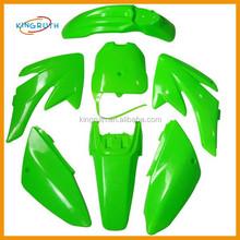 Green color CRF70 CRF 70 Body Protect Plastics Set Fairings Kit Body 125cc 140cc 150cc Stomp z140 wpb 140 Dirt Pit Bike