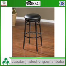 Black iron feet dining chair modern Luxury Leather Iron dining chair metal frame chairs and tables manufacturer