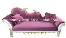 Danxueya antique purple chaise lounge , Purple sectional sofa