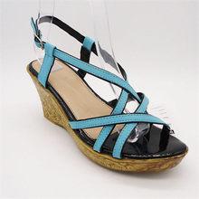 Innovative design wholesale ladies jelly plastic sandals