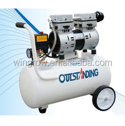 Oil free silent air compressor 750W-24L