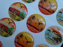 Accept Custom Order and Adhesive Sticker Type Dome Sticker