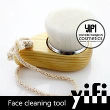 alibaba china top 3 cómodo de madera blanca de pelo de la cara cepillo de limpieza