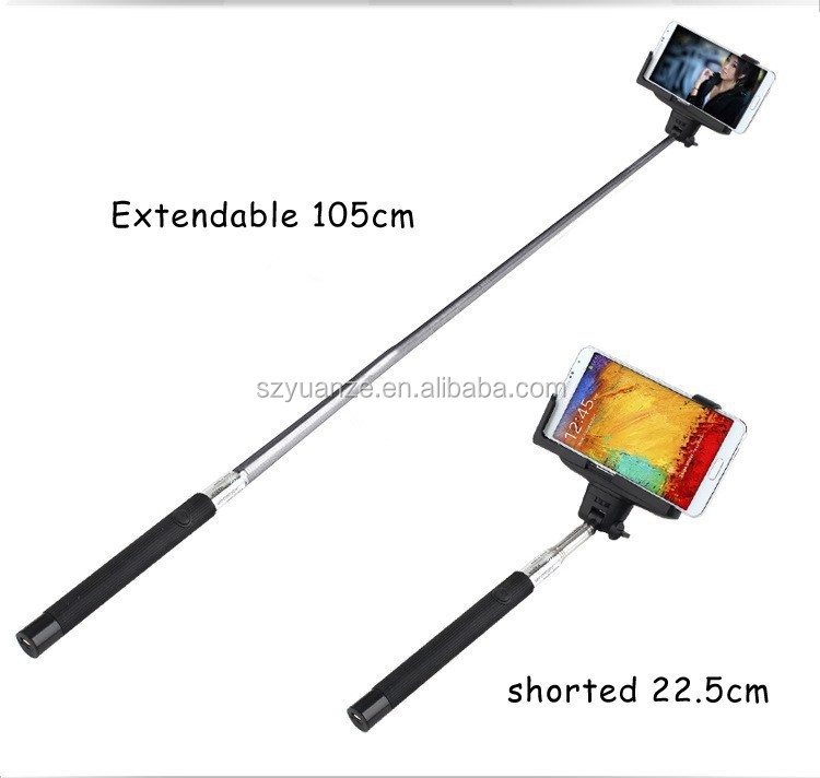 2015 hot sale selfie stick bluetooth monopod with zoom function wireless selfie stick buy. Black Bedroom Furniture Sets. Home Design Ideas