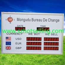 electronic exchange rate board / Exchange Rate / BT18-38H58LR / BABBITT