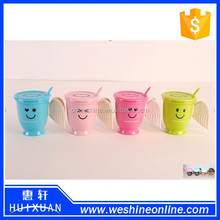 2015 New Design Tea or Coffee Cups With Angel Wings Handle