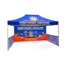 Custom Pop Up Folding Dye Sublimation Ez Up Tents