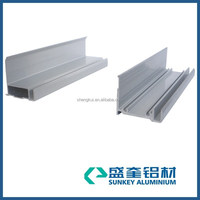 Aluminum Solar Panel profile Perfil de Aluminio Aluminium Profile Electrophoresis Silver Color