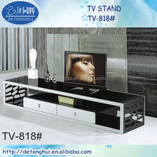 fancy black china lcd tv stand in india price TV818